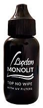 Топ для гель-лака без липкого слоя LUXTON Monolit с УФ фильтром , 30 мл