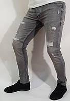 Джинсы мужские Redpoint 5602 30 Серый