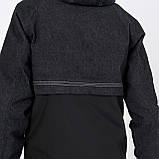 Чоловіча демісезонна куртка, комбінована, фото 4