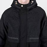 Чоловіча демісезонна куртка, комбінована, фото 6