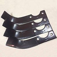 Ножи фрезы на мотоблок с воздушным охлаждением ZUBR HT-105 (пара)