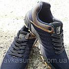Кроссовки мужские Bonote р.41 текстиль синие с коричневым, фото 2