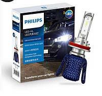 Philips LED HL H7 Лед ламп F30 F31 F32 F33 филипс BMW лампочки ближний