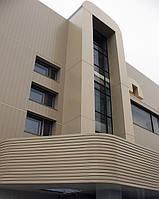 Реечные алюминиевые фасады