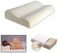 Подушка ортопедическая Memory Pillow, подушка Memory Pillow с эффектом памяти, анатомическая подушка для сна,