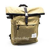 """Місткий рюкзак міський """"HL"""" 4 Кольори Бірюзовий, фото 3"""
