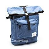 """Місткий рюкзак міський """"HL"""" 4 Кольори Бірюзовий, фото 5"""
