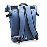 """Місткий рюкзак міський """"HL"""" 4 Кольори Бірюзовий, фото 6"""