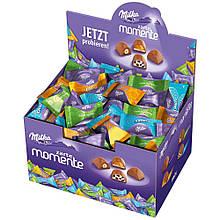 Шоколадні цукерки Milka Momente Zarte в коробці, 1 кг.