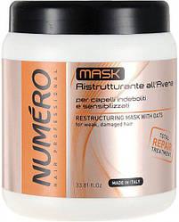 Маска-крем Numero Avena с овсом восстанавливающая для волос (1000 мл)