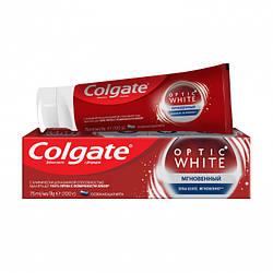 Отбеливающая зубная паста Colgate Optic White Мгновенный, с фторидом (75 мл)