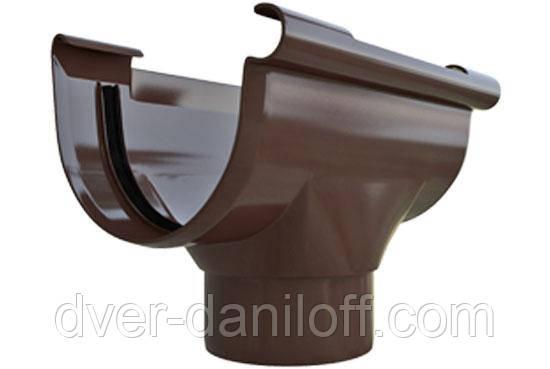 Воронка Альта-Профіль Еліт 125/95 мм коричневий, фото 2