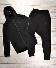 Костюм чоловічий XL(р) чорний 011-2021 Nike Туреччина Весна-D