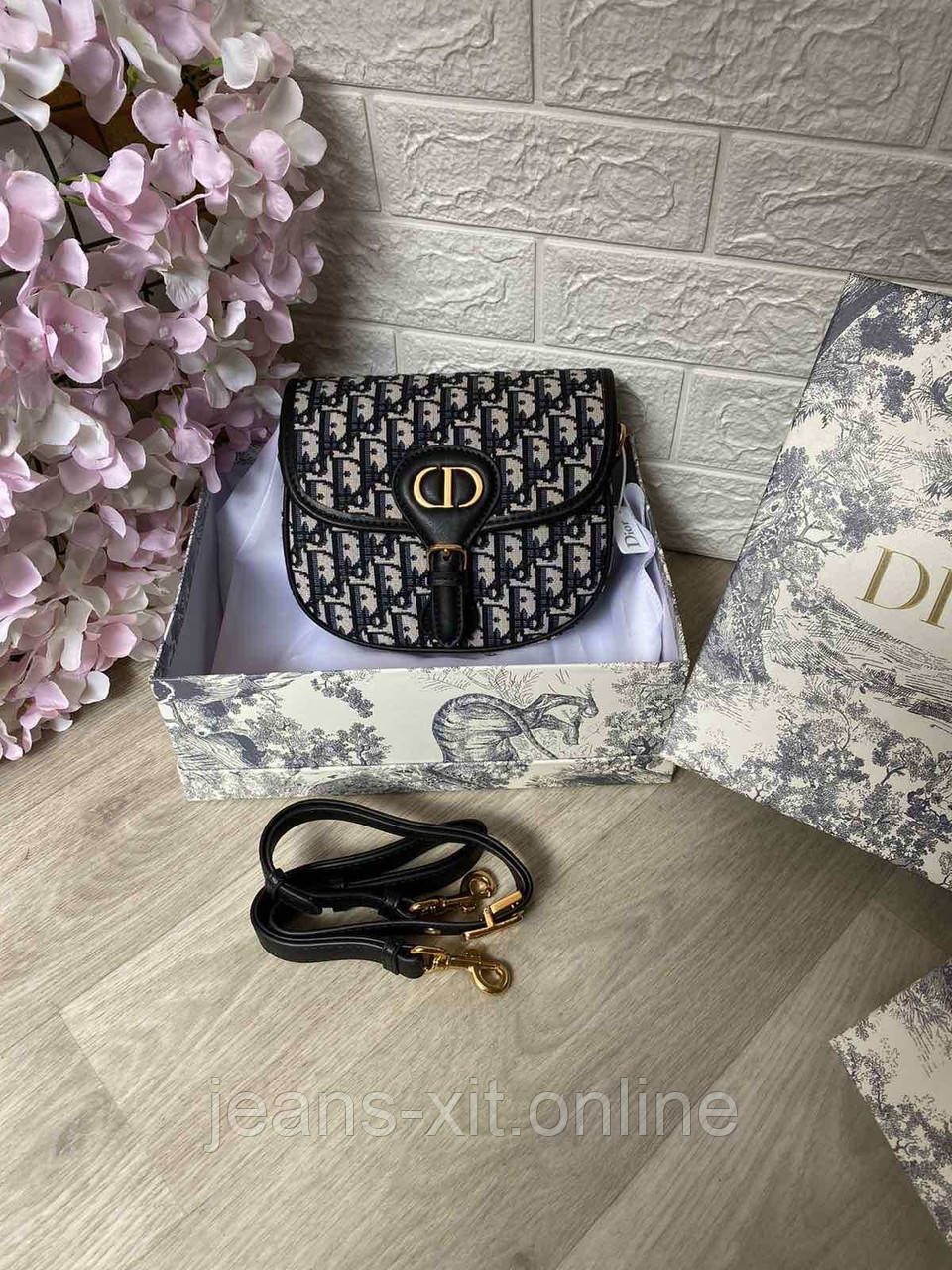 Сумка Жін. 1(р) чорний 826117 Dior КНР D