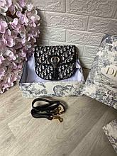 Сумка жіноча 1(р) чорна 826117 Dior КНР D