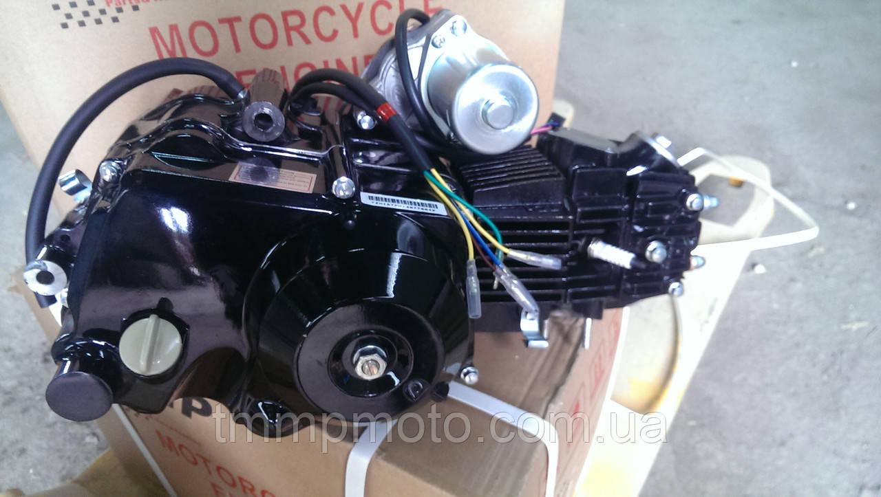 Двигатель для квадроцикла АТВ-125 см3для квадроциклов ( 3 вперёд и 1 передача назад ) ПОЛУАВТОМАТ