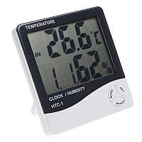 Термометр HTC-1, цифровой термометр-гигрометр, прибор для измерения температуры и влажности в помещении,
