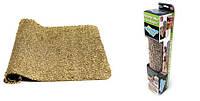Коврик для ног CLEAN MAT, Коврик для впитывания влаги и грязи, Коврик на резиновой основе, Коврик придверный,