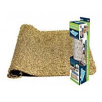 Коврик для ног CLEAN MAT, Прорезиненный коврик придверной, Впитывающий коврик, Коврик антигрязь, лучший товар