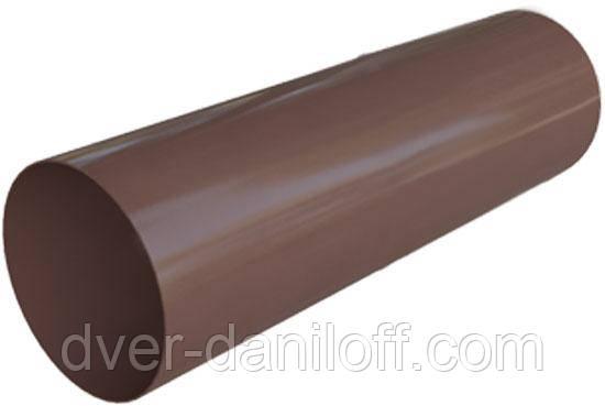 Труба водосточная Альта-Профиль Элит 95 мм 3 м коричневый, фото 2