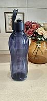 Еко-Пляшка 1 л Tupperware синя з клапаном