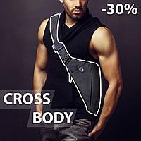 Сумка мессенджер Cross Body для мужчин. Хит сезона, лучший товар