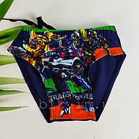 Купальні плавки для хлопчика із зображенням трансформерів р 28-36