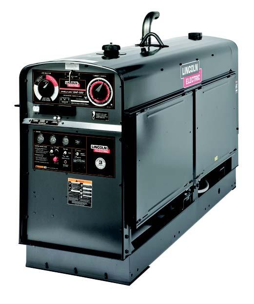 SAE 400 Big сварочный генератор LINCOLN ELECTRIC