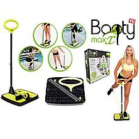 Домашний фитнес-тренажер для тела Booty MaxX на разные группы мышц и активное сжигание калорий