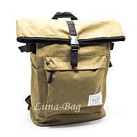 """Вместительный повседневный городской рюкзак для работы и путешествий"""" HL"""" 4 Бежевый"""
