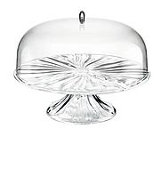 Тортовница с крышкой Guzzini Cake Aqva With Dome 24980000 27х25.6 см