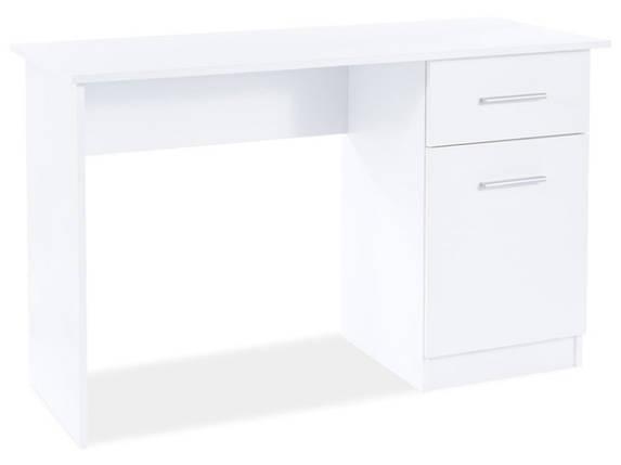 Бюро/ письмовий стіл B-002 BIAŁY MAT, білий, фото 2