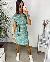 Платье в горошек летнее женское (ПОШТУЧНО), фото 1