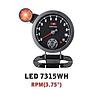 Дополнительный прибор Ket Gauge LED 7315 WH тахометр., Харьков
