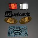 Комплект разноцветных катафотов для колес велосипедов., фото 2