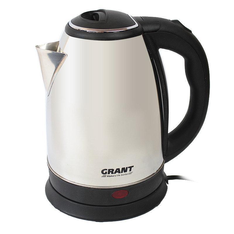 Електрочайник Grant DT 0418 (2л 1800W) | кухонний кавоварка | чайник електричний