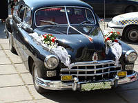 Ретро-автомобили на свадьбу в Виннице  ЗИМ 1956 г.
