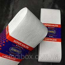 Резинка для одежды широкая STRONG 9см Белая (СТРОНГ-0553)