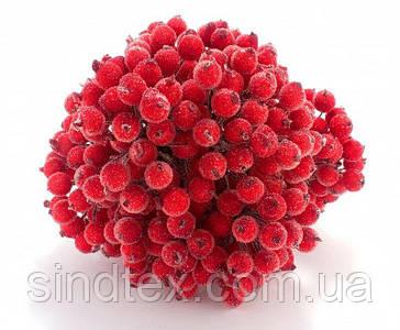 ОПТ Калина сахарная для рукоделия  Ø12мм, 400 ягодок Цвет - Красный (сп7нг-6062)