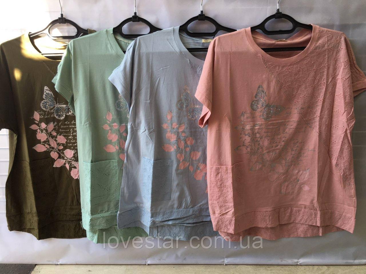 Жіноча футболка 50-56
