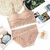 Набір жіночої білизни Beisdanna 2258 топ і слипи, фото 4