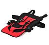 Бескаркасное детское автокресло   кресло для ребенка в машину   детское автомобильное кресло красное, фото 2
