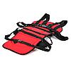 Бескаркасное детское автокресло   кресло для ребенка в машину   детское автомобильное кресло красное, фото 4