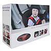 Бескаркасное детское автокресло   кресло для ребенка в машину   детское автомобильное кресло красное, фото 6
