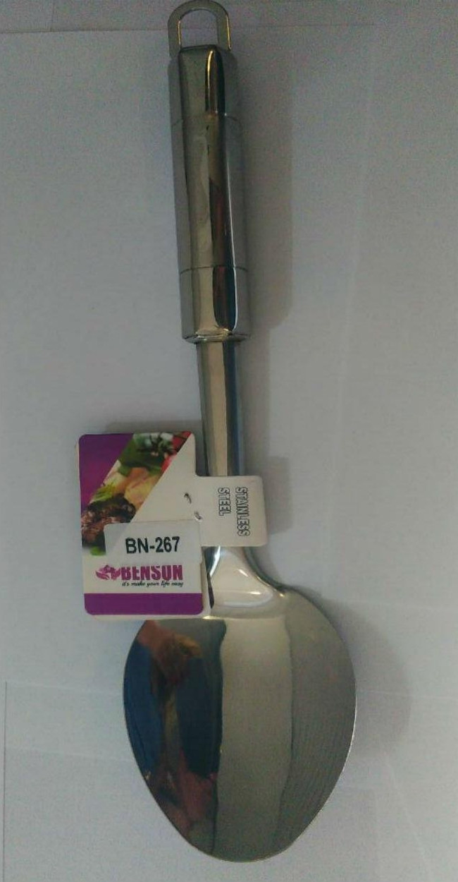 Ложка з нержавіючої сталі Benson BN-267   столові прилади   кухонні ложки   ложка з нержавіючої сталі