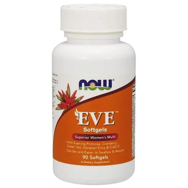 Витамины для женщин, Eve Women's Multi, Now Foods, 90 капсул