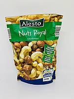 Смесь орехов Alesto Mixed Nuts Royal (ядра грецкого ореха, фундука, кешью и бланшированный миндаль), 200 г