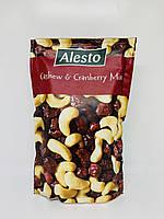 Микс Alesto из кешью и сушенной клюквы 200 грамм