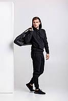 Мужской спортивный костюм черный