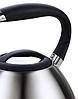 Чайник со свистком из нержавеющей стали Maestro MR-1315(3 л) металлический чайник Маэстро, Маестро, фото 6